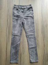 Next nadrág farmer anyagú, szürke színű (146)