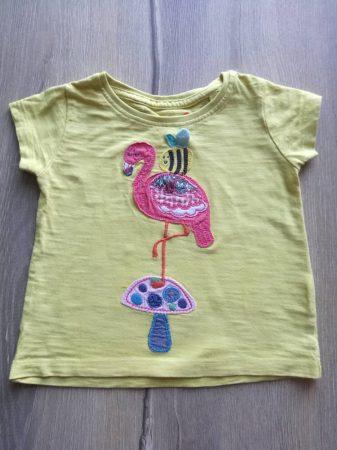 Next póló, flamingó dísszel (74)