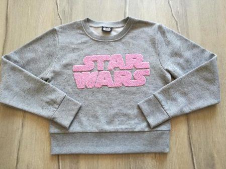 Matalan pulóver, Star Wars mintás, rövid fazon (146)