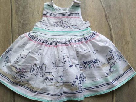 Next ruhácska/tunika, csíkos, tengerpart mintás (62)