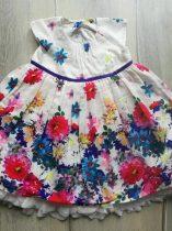 M&S ruhácska, nagy színes virágokkal, tüll aljú (68)