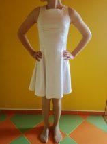 Hófehér ünneplős ruha (magyar termék) 140-146 cm