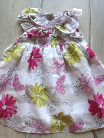 Next ruhácska /tunika virág mintás, galléros (68)